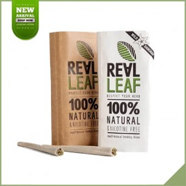 Duo pack Real Leaf substitut de tabac naturel