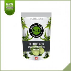 Fleurs de cannabis CBD SFTB Green Lemon Skunk