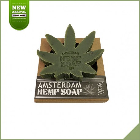 Savon à base de chanvre Amsterdam Hemp Soap