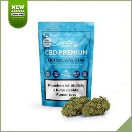 Cannabis Flowers CBD Swiss Botanic Critical Sensi Star