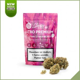 Fleurs de cannabis CBD Swiss Botanic Pink Strawberry