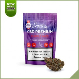 Fleurs de cannabis CBD Swiss Botanic Purple Haze