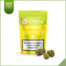 Fleurs de cannabis CBD Swiss Botanic Swiss Cheese