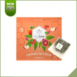 Tisane cbd in Beutel - Alpsbee Orange Infusion