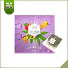Tisane cbd in Beutel - Alpsbee Green Tea