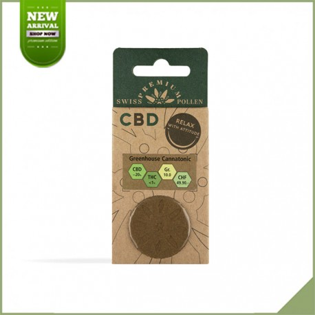 Swiss Premium Pollen CBD Greenhouse Cannatonic