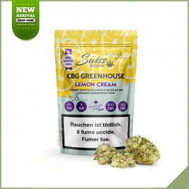Fleurs CBG Swiss Botanic Lemon Cream