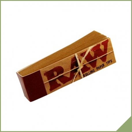 Raw Smoking Unbleached Tips