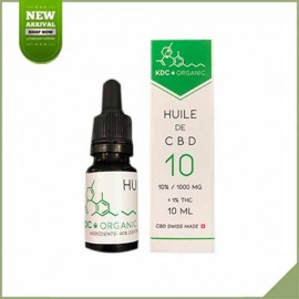 Cannabisöl CBD 10% KDC Bio 10ml