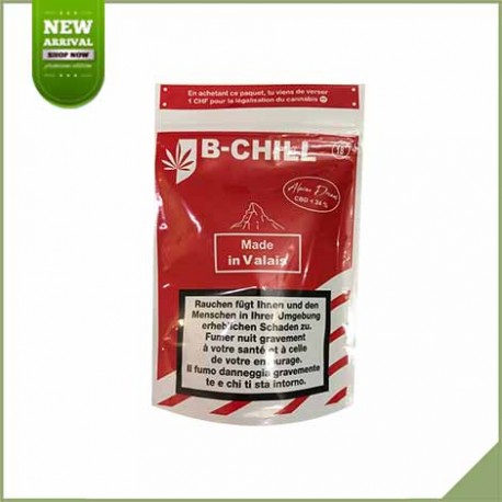 Fleurs de cannabis CBD B-Chill Alpine Dream 24%