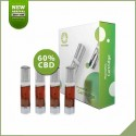 Pack 4x cartouches remplacement pour Phenopen CBD 60%
