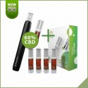 Kit Phenopen + pack 4x cartouches CBD 60%