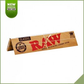 SMOKING KING SIZE DELUXE ROLLING PAPERS + 33 SPECIAL FILTER TIPS VEGETABLE GUM