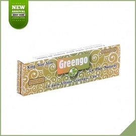Feuilles longues à rouler Greengo King Size Slim + Tips