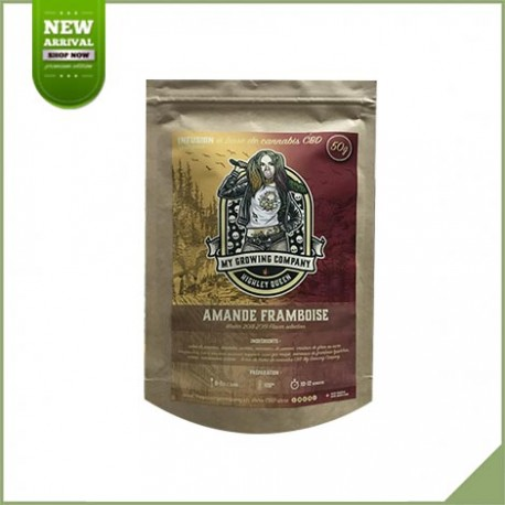 Infusion cbd amande framboise - My Growing Company