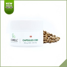 Capsules cbd Natural by Corell 40 mg