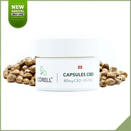 Capsules cbd Natural by Corell 80 mg