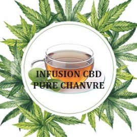 Infusion pure chanvre