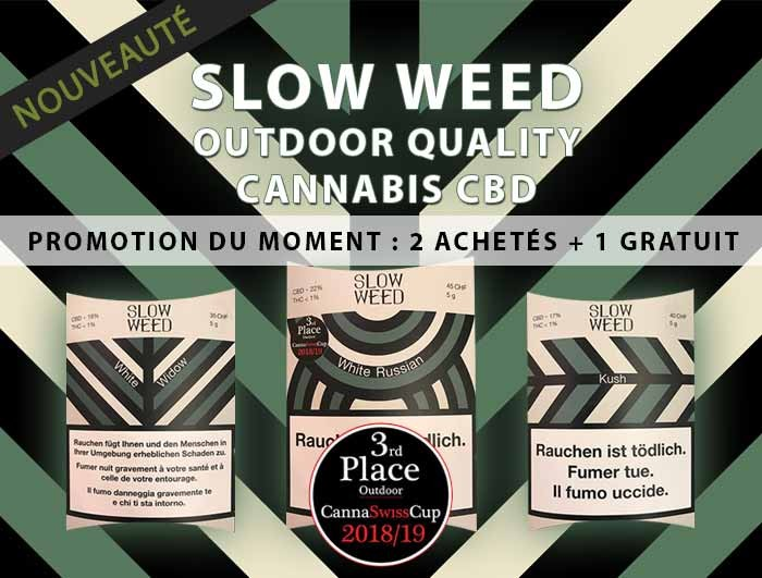 Slow weed cbd outdoor